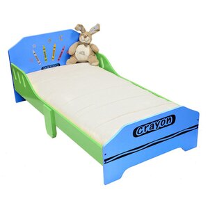 Ellington Circle Junior Toddler Panel Bed by Zoomie Kids