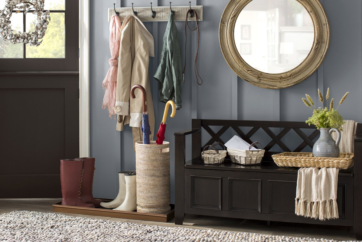 Darby Home Co Otterville Wood Storage Bench Amp Reviews