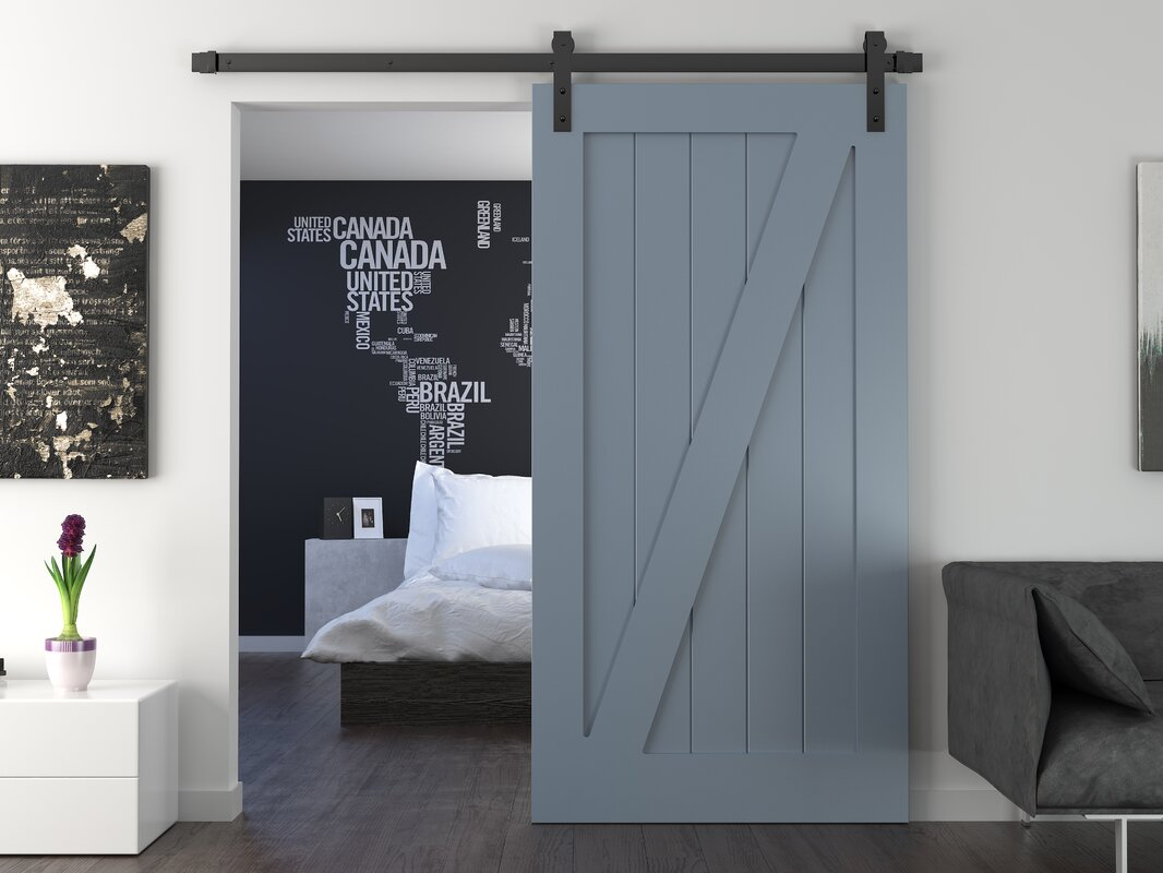 Interior Barn Door urban woodcraft interior barn door & reviews | wayfair