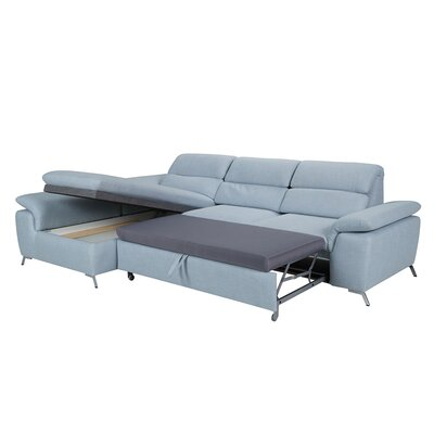 Brayden Studio Levering Sleeper Sectional Orientation: Left Hand Facing