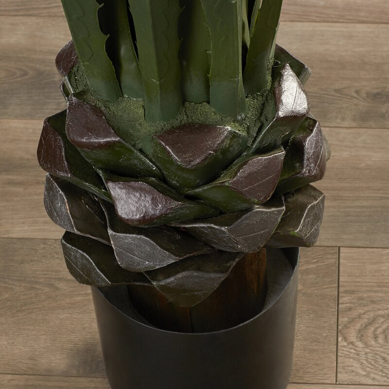 Artificial Giant Agave Floor Plant In Pot Amp Reviews Joss