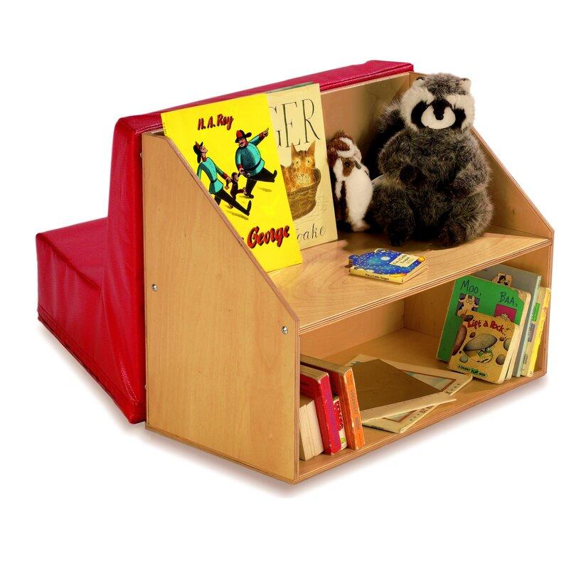 Whitney Bros. Reading Nook Kids Sofa With Storage