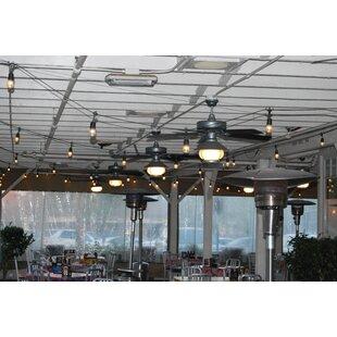 Outdoor cafe lights string wayfair save aloadofball Gallery