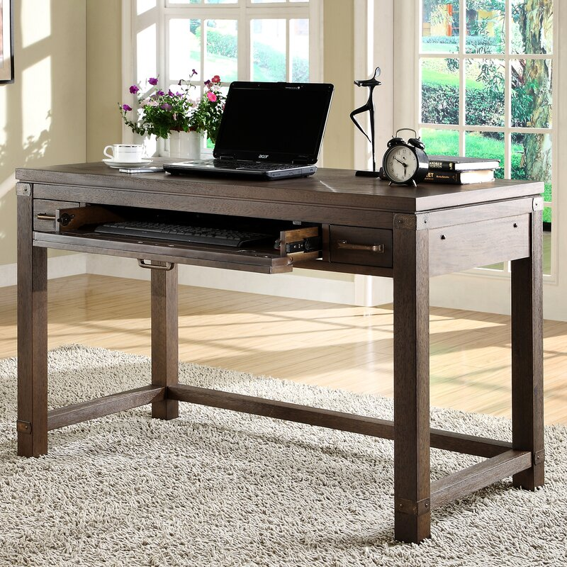 Etonnant Beartree Computer Desk With Keyboard Tray