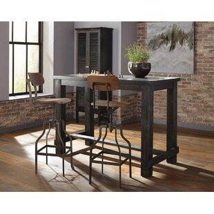 Andrea 3 Piece Pub Table Set
