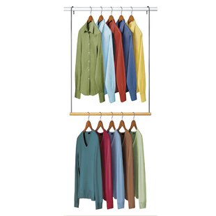 Double Hang Closet Rod Hanging Organizer