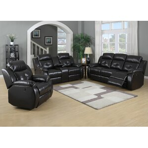 Hampton 3 Piece Living Room Set by Living In Style