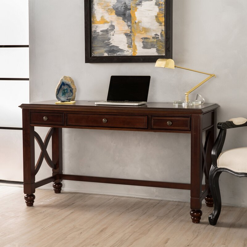 Bay Isle Home Sorrell Writing Desk Reviews Wayfair