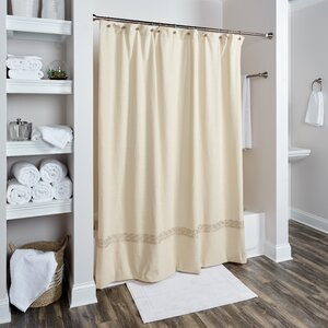 Valbonne Cotton Shower Curtain