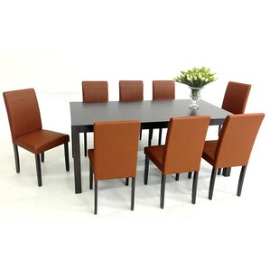 9 Piece Dining Set by Warehouse of Tiffany