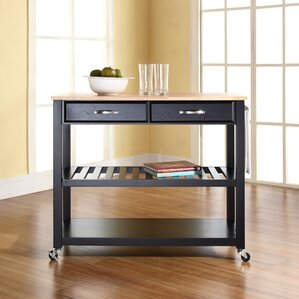 Zacharias Kitchen Cart by Alcott Hill