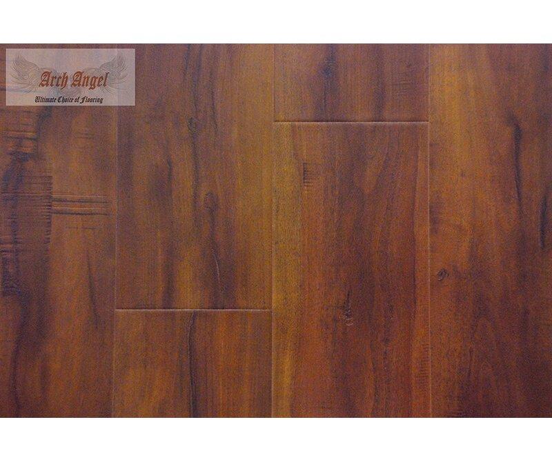 "AllAmericanHardwood Timeless Revolution 7"" x 48"" x 7mm Canadian Maple Laminate Flooring  Color: Iron Gate"