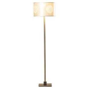 Hampton bay floor lamps wayfair wynyard 58 floor lamp mozeypictures Choice Image