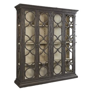 Aryanna Double Curio Cabinet