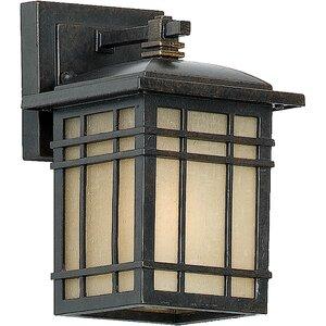 Woodard Rustic 1-Light Outdoor Wall Lantern