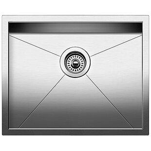 "Precision MicroEdge® Steelart® 22"" L x 18"" W Drop-In Kitchen Sink"