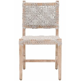 Zebedee Solid Wood Dining Chair (Set of 2)