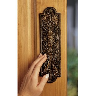 Greenman Door Plate