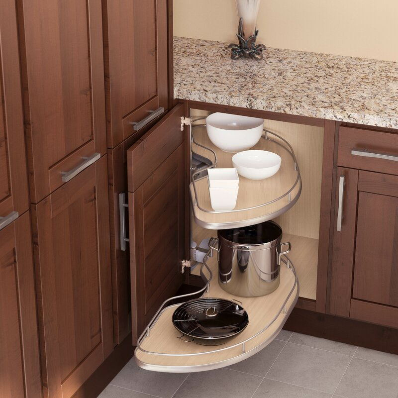 Vauth  Sagel Blind Corner | CORNERSTONE Maxx KIT 1 L For Cabinet 800mm  Maple Silver In , 1000mm Tray For 39 Cabinets   Left Handed In , Scalea  Maple Silver ...