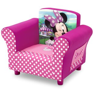 Disneyu0027 Minnie Mouse Kids Chair