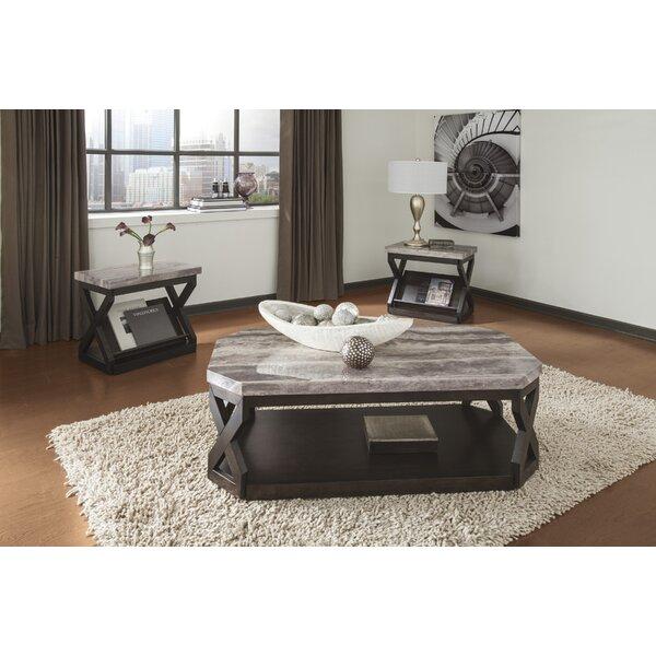 sc 1 st  Wayfair & Latitude Run Kelton 3 Piece Coffee Table Set \u0026 Reviews | Wayfair