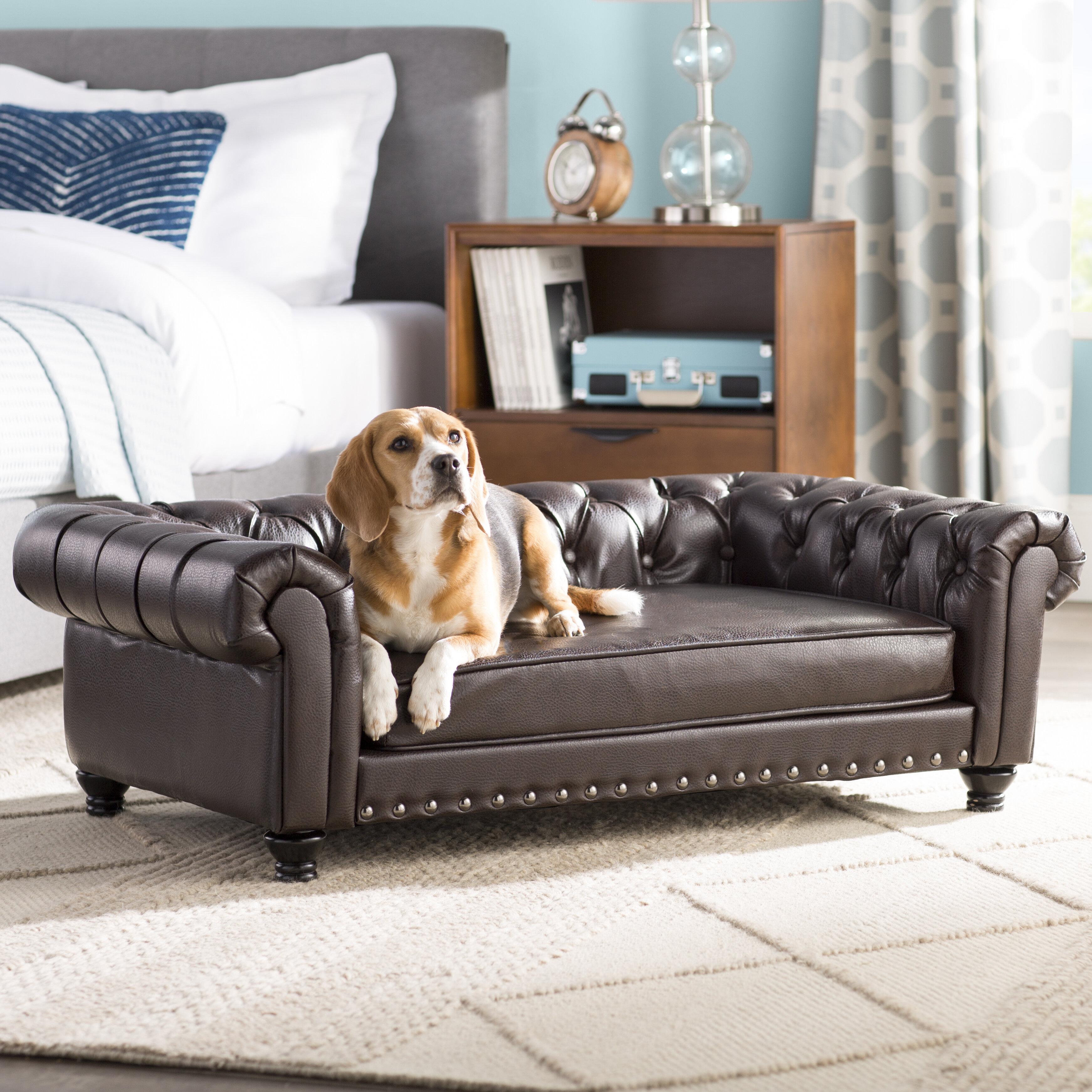 Archie Oscar Cornelia Dog Sofa With Solid Foam Cushion Reviews Wayfair