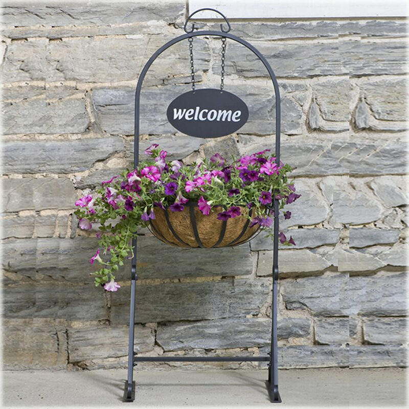 Cobraco Hanging Basket Plant Stand Amp Reviews Wayfair