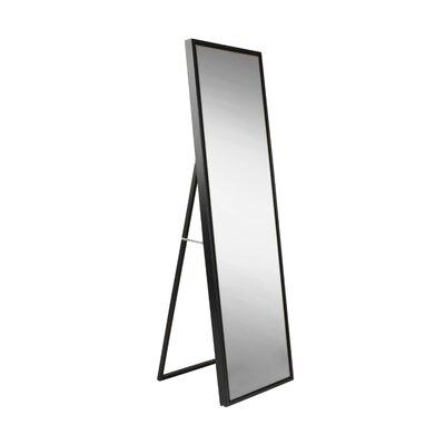 Mercury Row Loeffler Full Length Mirror Finish: Black