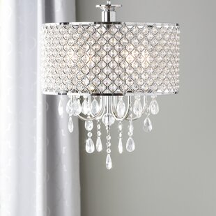 Aurore 4 Light Led Crystal Chandelier