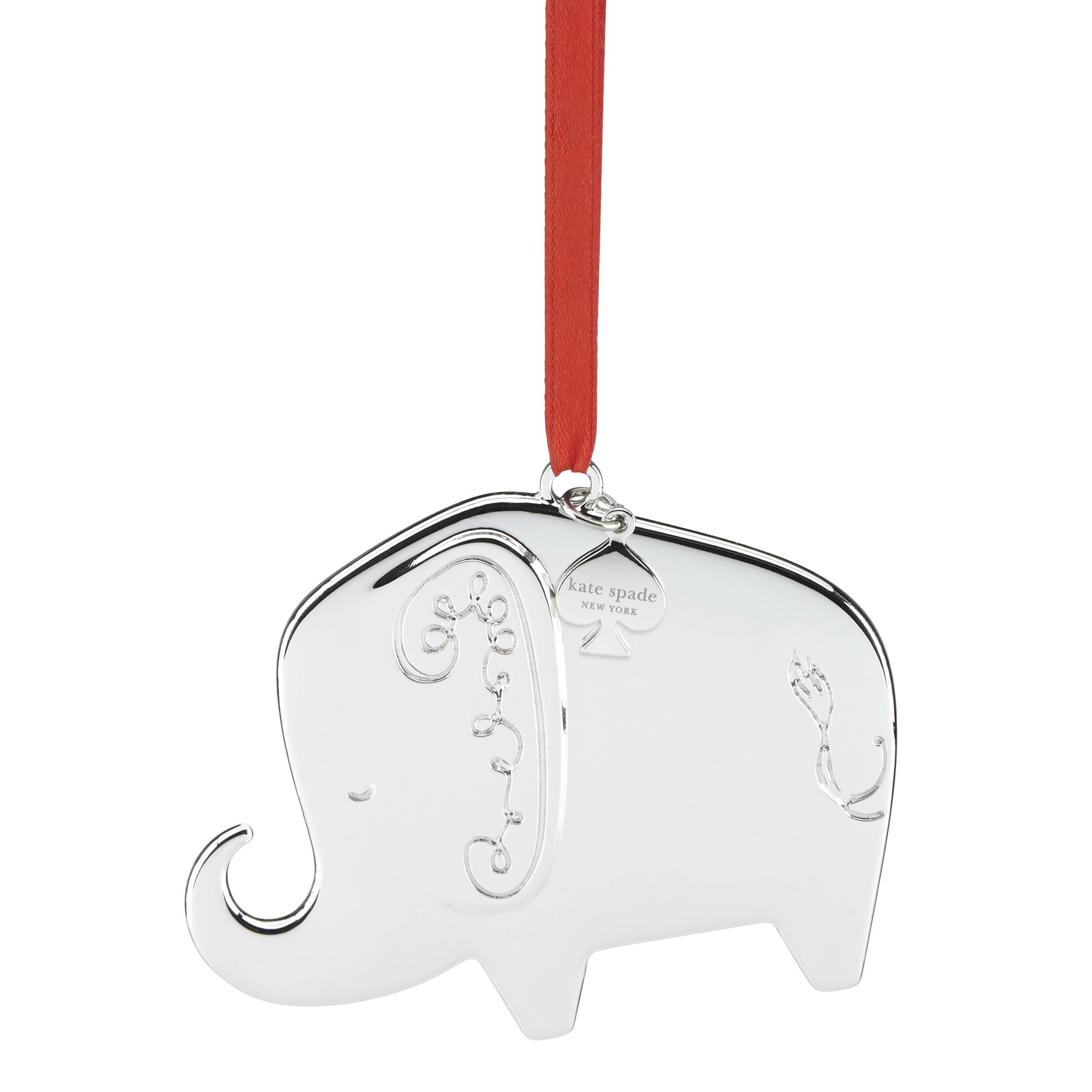 kate spade new york Darling Point Baby\'s 1st Christmas Elephant ...