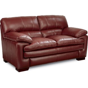 Leather Red Sofas You\'ll Love   Wayfair