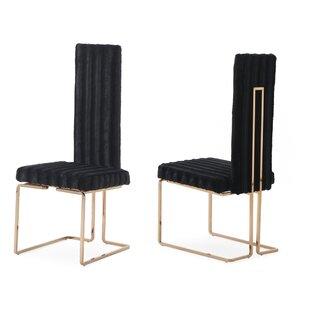 Jayleen Solid Back Side Chair (Set of 2)