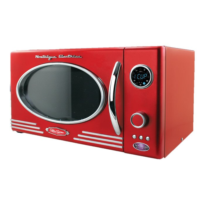 Retro Series 19 0 9 Cf Countertop Microwave Oven