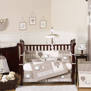 Little Lamb 9 Piece Crib Bedding Set