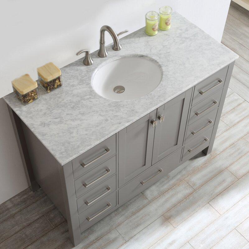 "Newtown 48"" Single Bathroom Vanity"