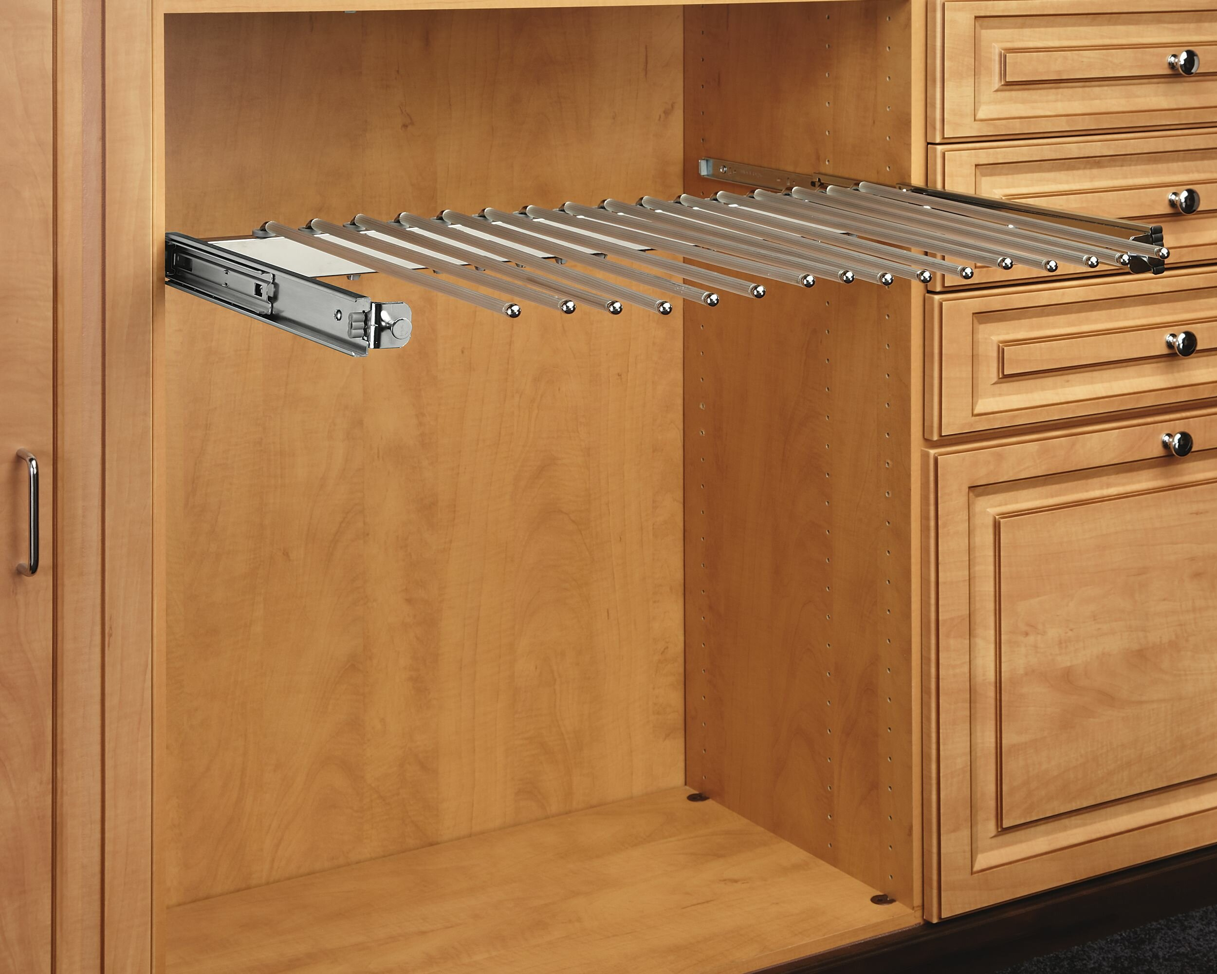closet reviews wayfair storage slide pants pdx full rev a with pull rack out extension organization shelf