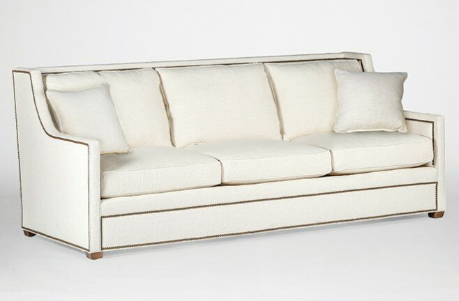 Ordinaire Hardy High Back Three Cushion Sofa