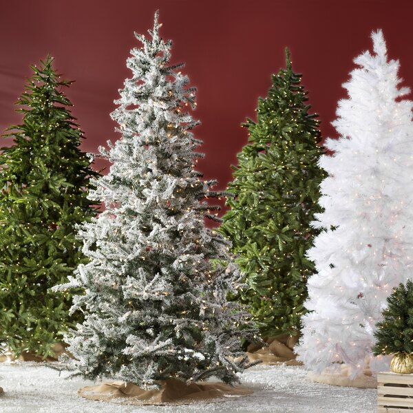 Artificial Christmas Trees Flocked