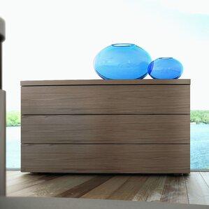Ludlow 3 Drawer Dresser by Modloft