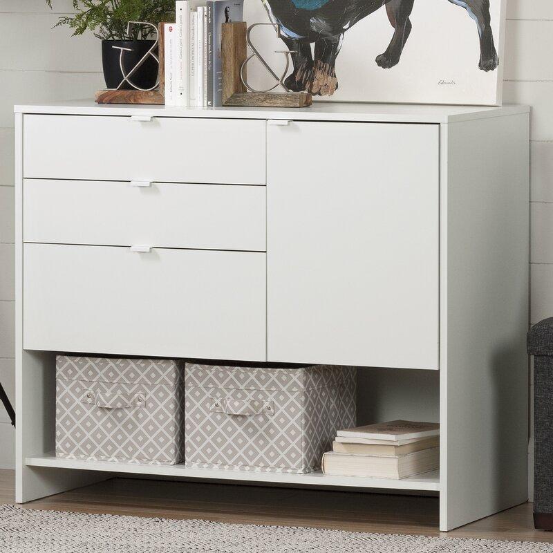 South Shore Crea 1 Door Storage Cabinet & Reviews | Wayfair