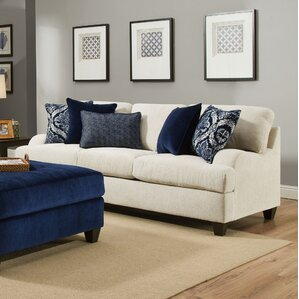 Simmons Upholstery Hattiesburg Stone Queen Sleeper Sofa by Three Posts