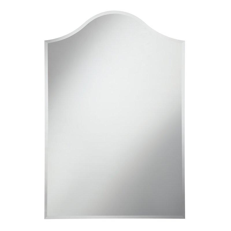 Darby Home Co Charmayne Frameless Wall Mirror Wayfair