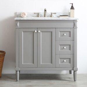 Right side sink vanity wayfair - Applebaum 24 single bathroom vanity set ...