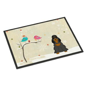 Christmas Presents Between Friends Cocker Spaniel Doormat