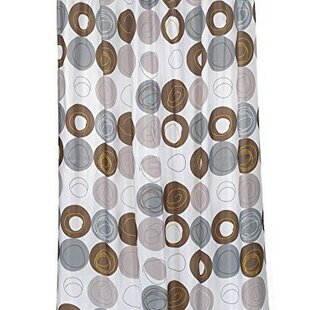 Nevin Stall Size Vinyl Shower Curtain