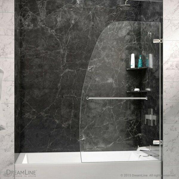 Striking Curved Silhouette, Frameless Glass Design