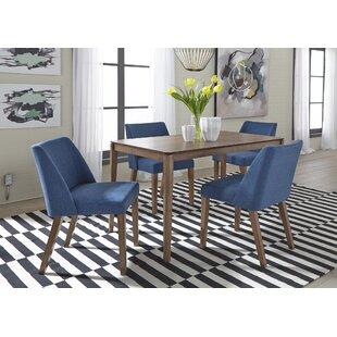 Kohut 5 Piece Solid Wood Dining Set