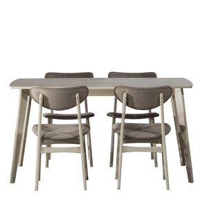 Hippocrates 5 Piece Dining Set by Bray..