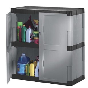37 H X 36 W 18 D 2 Door Storage Cabinet By Rubbermaid
