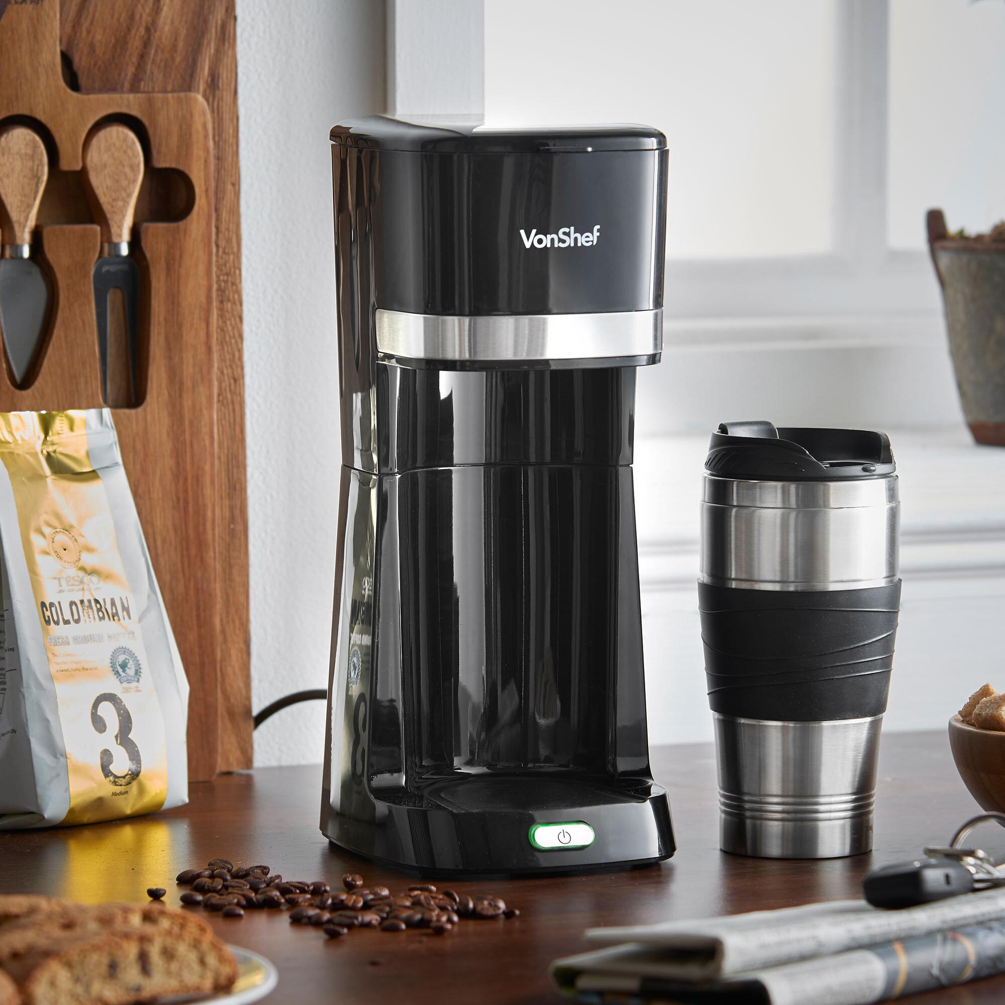 Vonshef Personal Filter Coffee Maker Wayfair